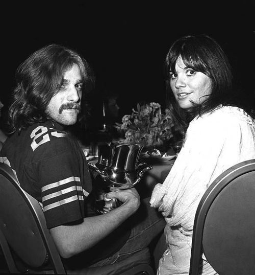 Glenn Frey, Linda Ronstadt in the 1970s