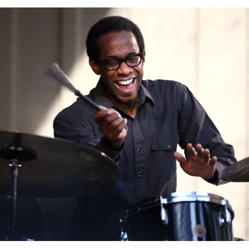 Brian Blade - sans the beard he had tonight