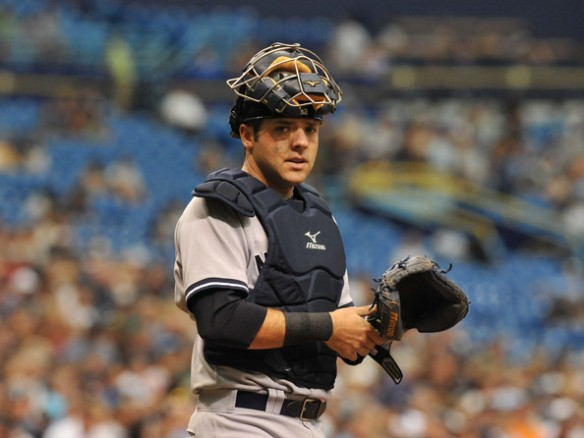 Austin Romine - last go around with the Yankees?