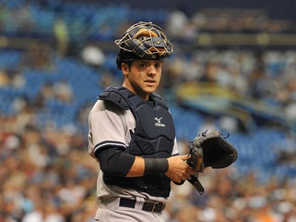 Austin Romine - last go around with the Yankees?