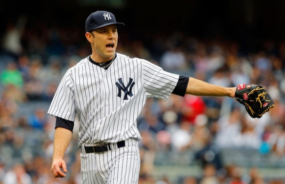 David Phelps - another injury worry for the Yankees.