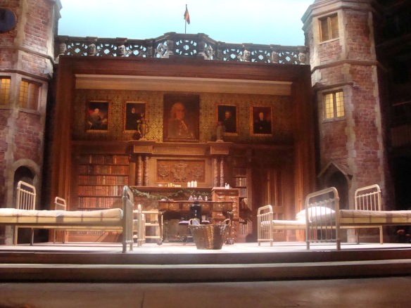 Simon Higlett's stage design