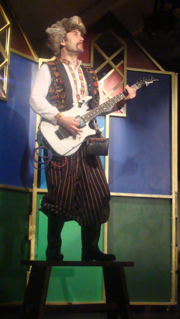 Ivan, the electric guitar wielding Russian