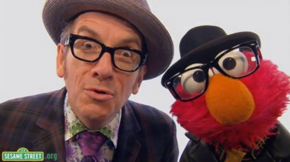 Elvis Costello - and an attraction