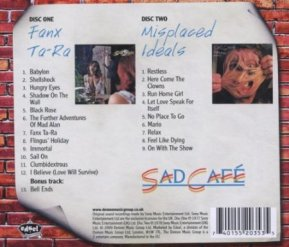 Fanx Tara + Misplaced Ideals cd - 2