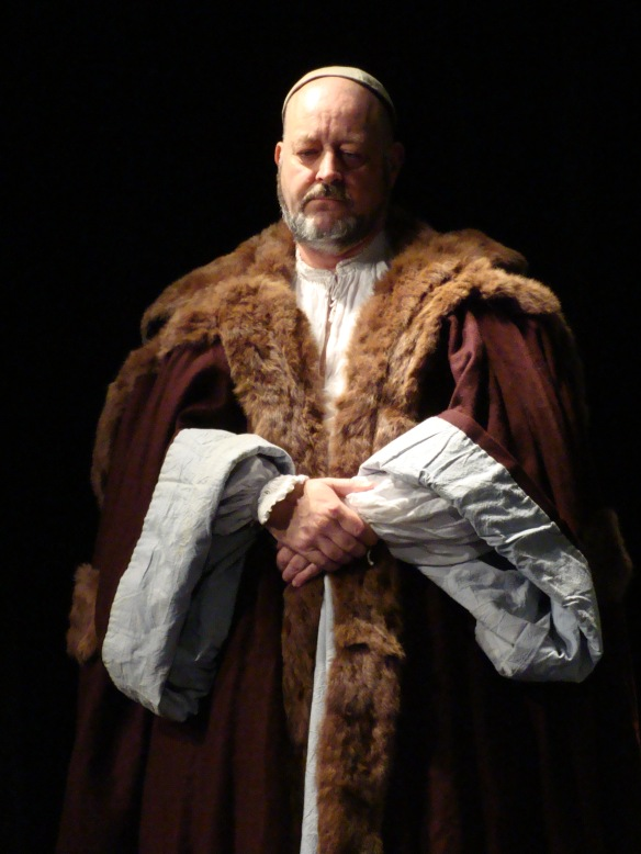 Richard Evans - actor, co-director in The Shakespearience and The Shakespearience Too