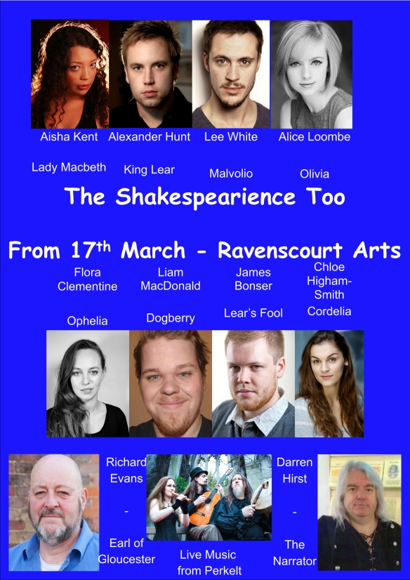 The Shakespearience Too - Full Cast