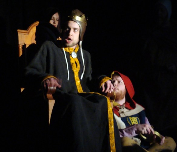 Alexander Hunt as King Lear