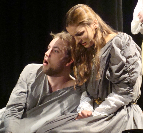 Cordelia and Lear ... together to the end. Love triumphs over all - even death!