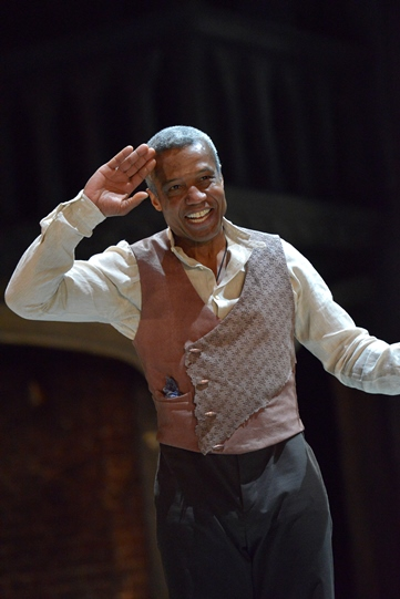 Hugh Quashie as Othello