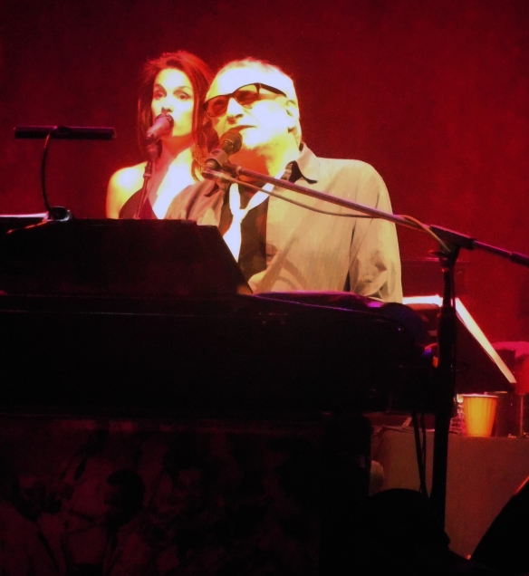 Carolyn Leonhart and Donald Fagen