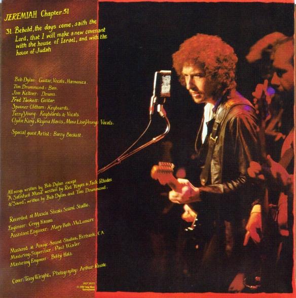 Bob Dylan - Saved 3
