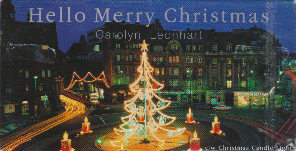 Hello Merry Christmas Carolyn Leonhart